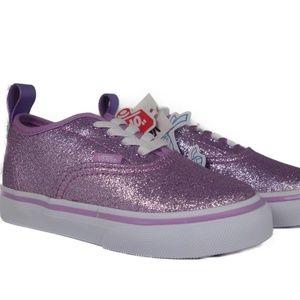 VANS Authentic Elastic Glitter (Lilac / White)